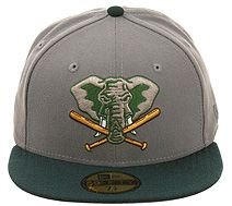 59FIFTY Oakland Athletics #cap by #newera featuring their elephant logo #accessoires