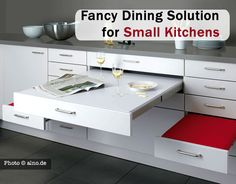Fancy Dining Solution for Small Kitchens