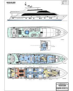 Hargrave 116 motor yacht 'RENAISSANCE' - Google Search