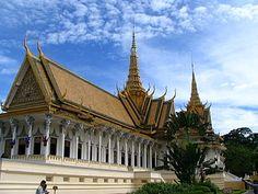 Palácio Real de Phnom Penh – Camboja