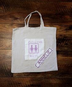 Sewing Projects, Patches, Reusable Tote Bags, Twins, Stitching
