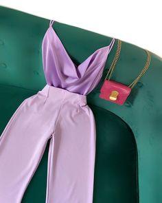 """MAMIE BOURGEOISE on Instagram: """"Look du jour 💜💫 Le top Eva version lilas associé au pantalon Maxence  plusieurs coloris disponibles 👀 mamiebourgeoise.com . . . .…"""""""