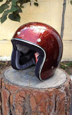 Helmet Bonanza Open Face Biltwell Root Beer New