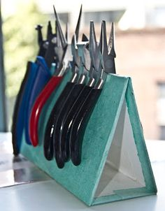 Embergrass Jewelry | Blog: How to: make your own plier stand