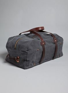 Great duffle for your weekend get away from Billy Reid.