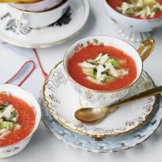 ... about Chilled Soups on Pinterest | Gazpacho, Soups and Tomato soups