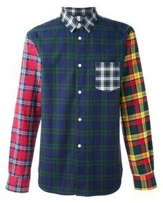 Comme des Garçons   Blue Comme Des Garçons Shirt Checked Shirt for Men   Lyst