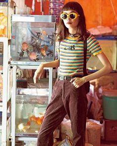 NYLON JAPAN11月号では、ストリートで存在感を放つニュージェネレーションなit girl gangを特集。ベトナムの注目すべきNo.1ファッショニスタ @vuthien239  November issue P118 it girl gang on the street  #nylonjapan #nylonjp #fashion #mood #itgirl #girlgang #caelumjp