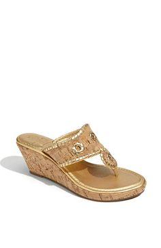 Jack Rogers 'Marbella' Cork Sandal available at #Nordstrom
