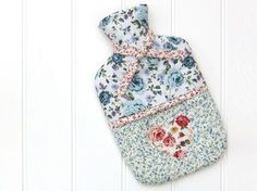 Stay cosy during the colder seasons by sewing a hot-water bottle cover from your favourite fabric