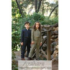 #Traje de #campero para #niño, formado por #chaqueta, #chaleco y #pantalones. #moda #flamenca #Fuengirola