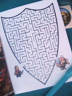 Knight's Party - maze