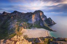 Photo Bunes beach, Lofoten, Norway by Sven Broeckx on 500px