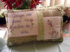 Pillows, almofada, embroidery