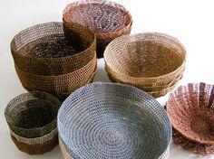 Moonbasket end of range sale at Vamp - 05 November 2014 Crochet Bowl, Contemporary Design, Crates, Serving Bowls, Decorative Bowls, November, Tableware, Range, Gifts