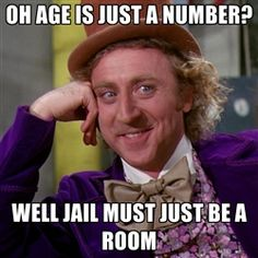 hahaha all of these willy wonka things sort of drive me crazy, but this one's kinda funny