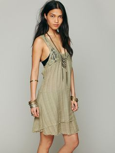 Free People Apron Back Dress at Free People Clothing Boutique