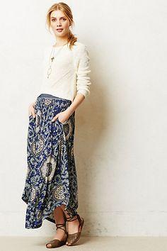 good day skirt--Lucerna Maxi Skirt #anthropologie