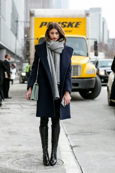 Model Street Style: Taylor Marie Hill's Patent Boots