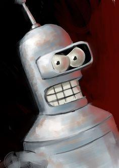 Bender - Futurama - grindeath-art.deviantart.com