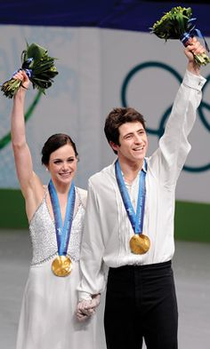 Tessa Virtue and Scott Moir on the Sochi Olympics- a funny interview with the 2-10 Olympic Gold medal ice dancers!