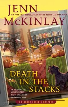Death in the stacks by Jenn McKinlay.