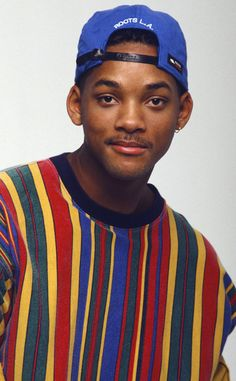 will smith Wills Got the Blues from Will Smiths Craziest Looks on The Fresh Prince of Bel-Air Primary colors were SO Wills jam. Diy Outfits, Hip Hop Outfits, Outfits Clueless, Grunge Outfits, Style Outfits, Fashion Male, Hip Hop Fashion, 80s Fashion, Fashion Kids