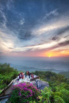 Sunrise at Mount Abu_ India
