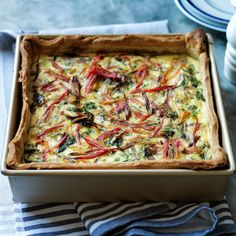 Williams-Sonoma's quiche recipes are perfect choice for brunch. Find frittata recipes and savory recipes for tarts at Williams-Sonoma. Chard Recipes, Quiche Recipes, Brunch Recipes, Breakfast Recipes, Breakfast Ideas, Egg Recipes, Swiss Recipes, Lamb Recipes, Entree Recipes