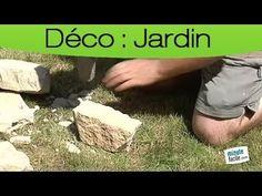 Décorer son jardin : Construire un muret en pierres sèches - YouTube