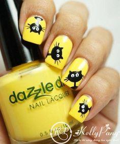 Animal nails, Bright summer nails, Cheerful nails, Childish nails with pattern, Fashion nails 2016, Fashionable nails 2016, Interesting nails, Kid nails with pattern