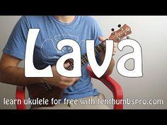 Pixar's Lava - Ukulele Tutorial - How to play easy beginner Ukulele songs - YouTube