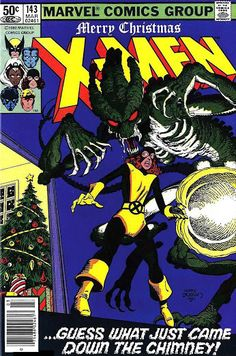 The Uncanny X-Men #143 (Mar '81) cover by Terry Austin. Merry Christmas!  #comics #KittyPryde