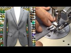 """(8) How to sew a jacket PART2 tutorial """"Adjust cutting, Stick stay tape, Sew the lining"""" - YouTube"""