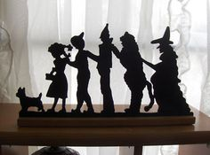wizard of oz silhouette | a standing silhouette like this might be really cool!