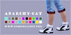 Anarchy-Cat: Madle`s Kyoto Sneakers male • Sims 4 Downloads