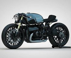Custom BMW Concept Motorcycle by Ziggy Moto