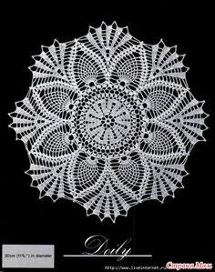 Croche e Cia: Crochet Doily Patterns