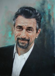 DeNiro (pastel portrait demo) ... Gerard Mineo