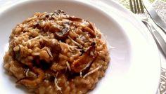 Risotto alla Valdostana (ou Risoto à Valligiana, com cogumelos e queijo)