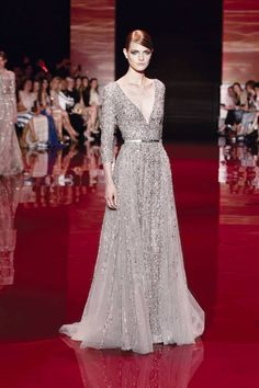 ELIE SAAB HAUTE COUTURE AUTUMN/WINTER 2013-2014 FASHION SHOW