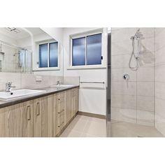 Double vanity is an ensuite must! #cbuiltproperties #melbournebuilder #custombuilder #bathroom #bathroominspo #bathroomideas #doublevanity #newhomes #newhome #building #decor #interiorinspo #masterbuilder #melbourne by cbuiltproperties Bathroom designs.