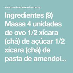 Ingredientes (9) Massa 4 unidades de ovo 1/2 xícara (chá) de açúcar 1/2 xícara (chá) de pasta de amendoim (175g) 1/2 xícara (chá) de farinha de trigo 1/2 xícara (chá) de farinha de rosca 1 colher (sopa) de fermento químico em pó Cobertura 1/2 xícara (chá) de pasta de amendoim (175g) 1 lata de leite [...]