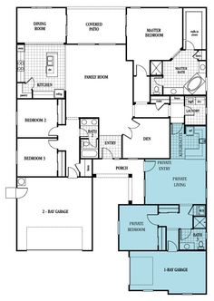Plan 2935 New Home In The Reserve At Kavala Ranch By Lennar Look It Is Erv S Tiny House Attached To Our Real