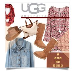 """Boot Remix with UGG : Contest Entry"" by judysingley-polyvore ❤ liked on Polyvore featuring Patchington, H&M, UGG Australia and Overland Sheepskin Co."