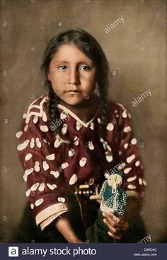 Image result for photo of crow indian girl