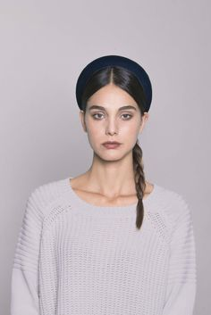 Blue Velvet Headband. Made in Italy by #Bluetiful craftmen