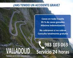 ABOGADO PARA ACCIDENTES GRAVES EN VALLADOLID