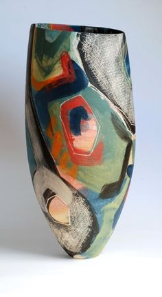 Carolyn Genders #ceramics #pottery