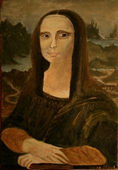 A fun Mona Lisa I did for fun